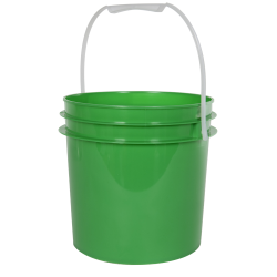 Green 1 Gallon Bucket (Lid Sold Separately)