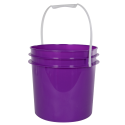 Purple 1 Gallon Bucket (Lid Sold Separately)