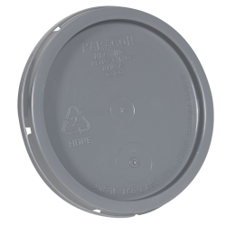 Gray Tear Tab Lid for 1 Gallon Buckets