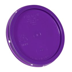 Purple Tear Tab Lid for 1 Gallon Buckets
