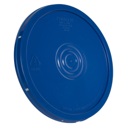 Blue Tear Tab Bucket Lid
