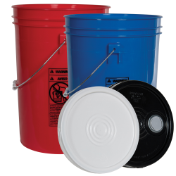 Economy 6 Gallon Buckets & Lids