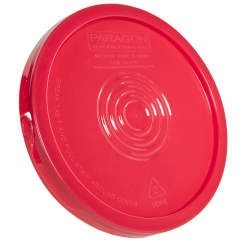 Red Easy Off Lid for 6 Gallon Economy Buckets