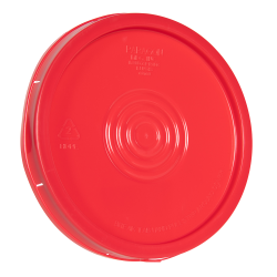 Red Tear Tab Lid for 6 Gallon Economy Buckets