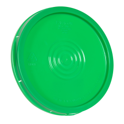 Green Tear Tab Lid for 6 Gallon Economy Buckets