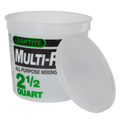 Leaktite® Multi-Ratio Containers & Lids