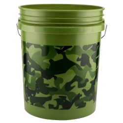 Leaktite® Camouflage Green 5 Gallon Bucket