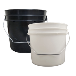1 Gallon Economy Buckets with Wire Bail & Lids