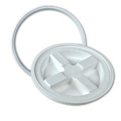 White Gamma Seal® Lid Lid for 2 Gallon Pail