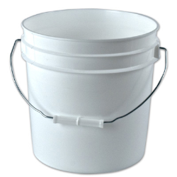 2 Gallon Buckets & Lids