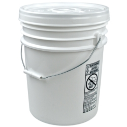 Letica® UN Rated 5 Gallon Bucket with Lid