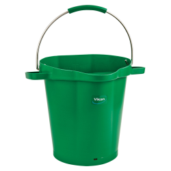 Vikan® Polypropylene Green 5 Gallon Pail
