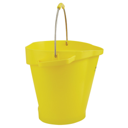 Vikan® Polypropylene Yellow 5 Gallon Pail