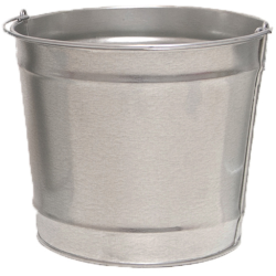 10 Qt. Galvanized Steel Pail