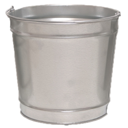 12 Qt. Galvanized Steel Pail