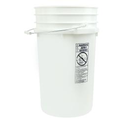 Letica® White 7 Gallon Bucket