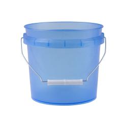 Translucent Blue 1 Gallon Pail
