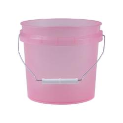 Translucent Pink 1 Gallon Pail