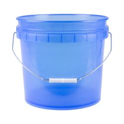 Translucent Blue 3.5 Gallon Pail