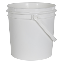 Smart Seal™ White 1 Gallon Bucket