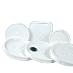 White Lids for Round & Square Buckets