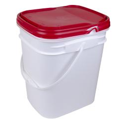 Letica® Rectangular Tamper Evident Bucket