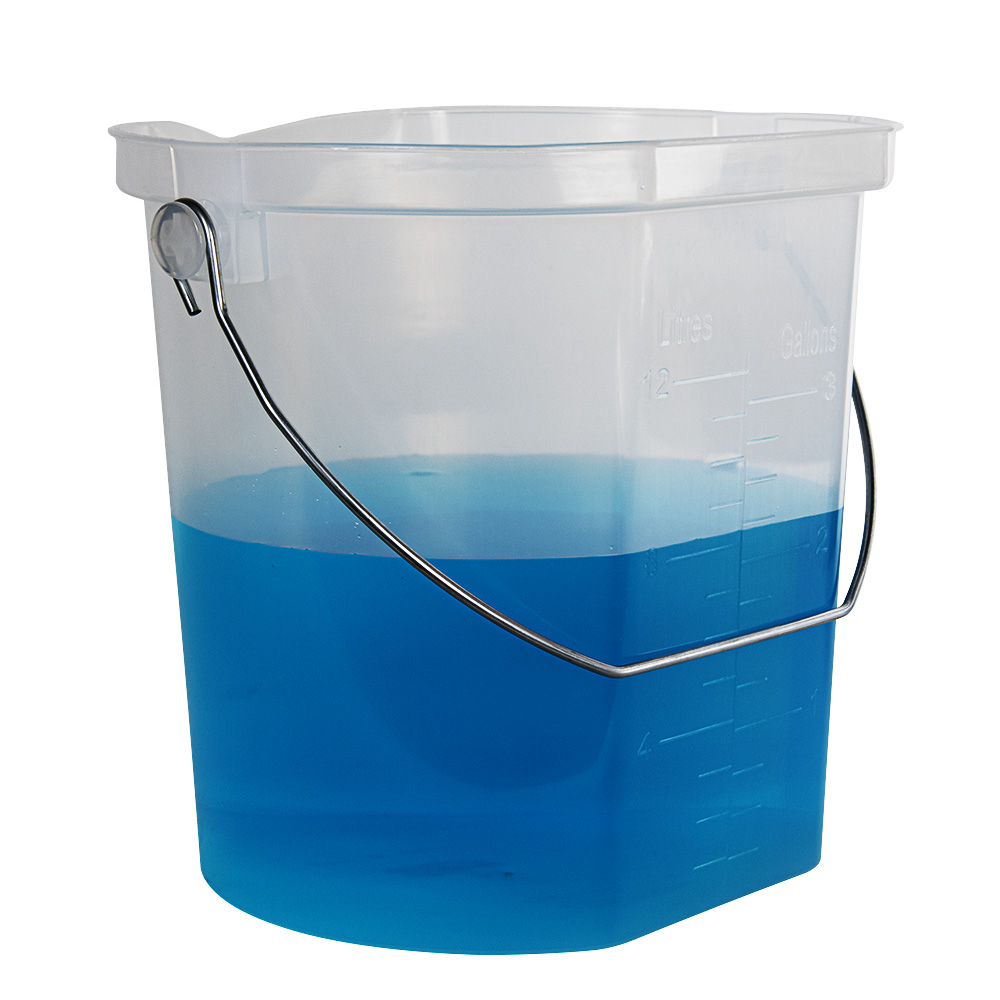 3 Gallon Accu-Pour™ Polypropylene Measuring Bucket