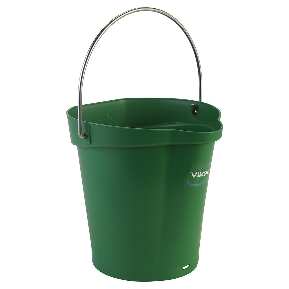 Vikan® Polypropylene Green 1.5 Gallon Pail