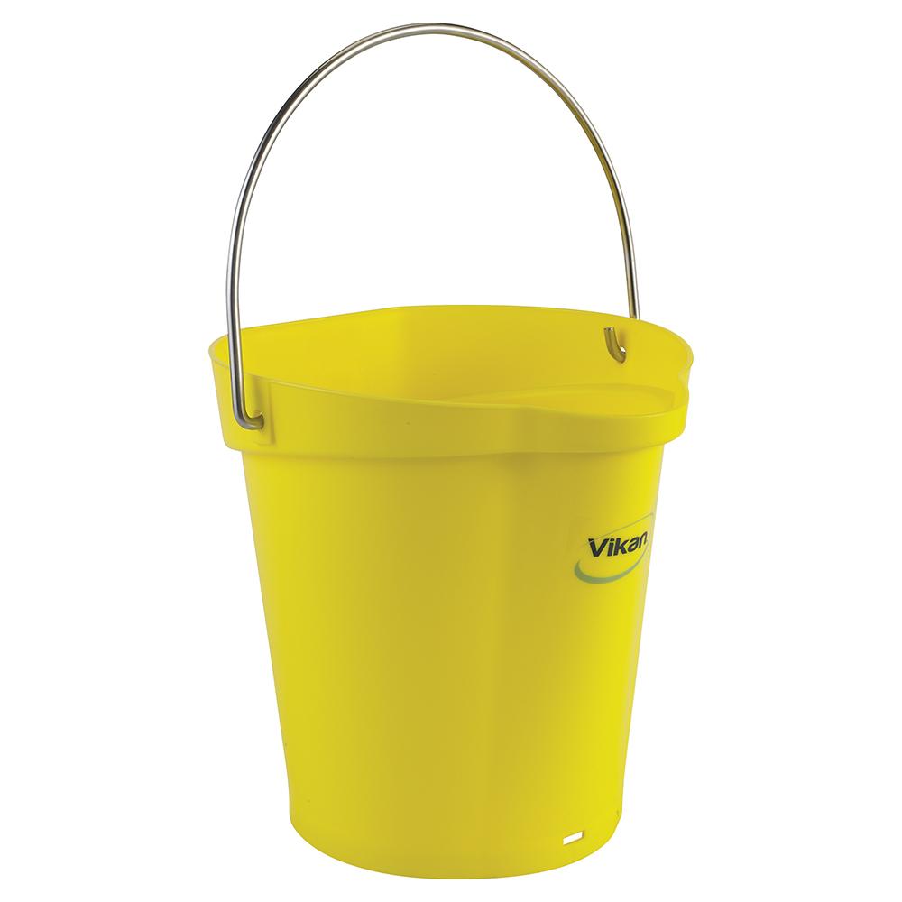 Vikan® Polypropylene Yellow 1.5 Gallon Pail
