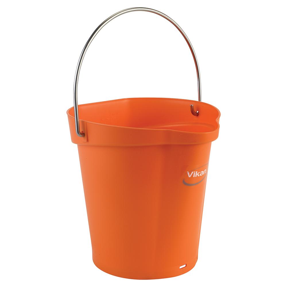 Vikan® Polypropylene Orange 1.5 Gallon Pail