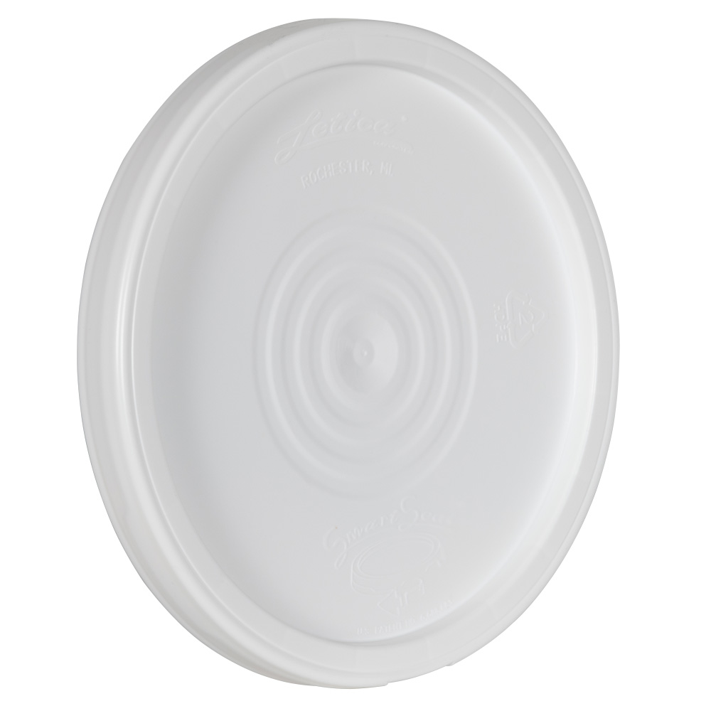 White Cover for Smart Seal™ 4 Gallon Bucket