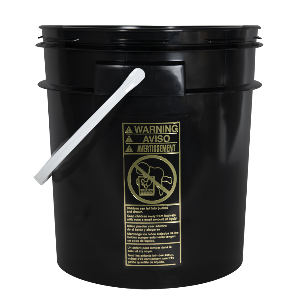 Smart Seal™ Black 4 Gallon Bucket