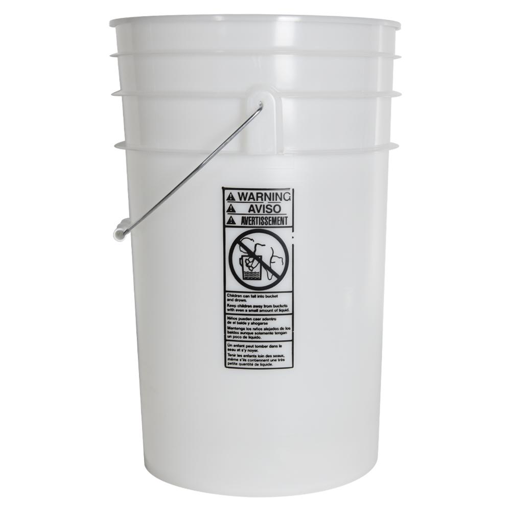 Natural 6.5 Gallon Bucket