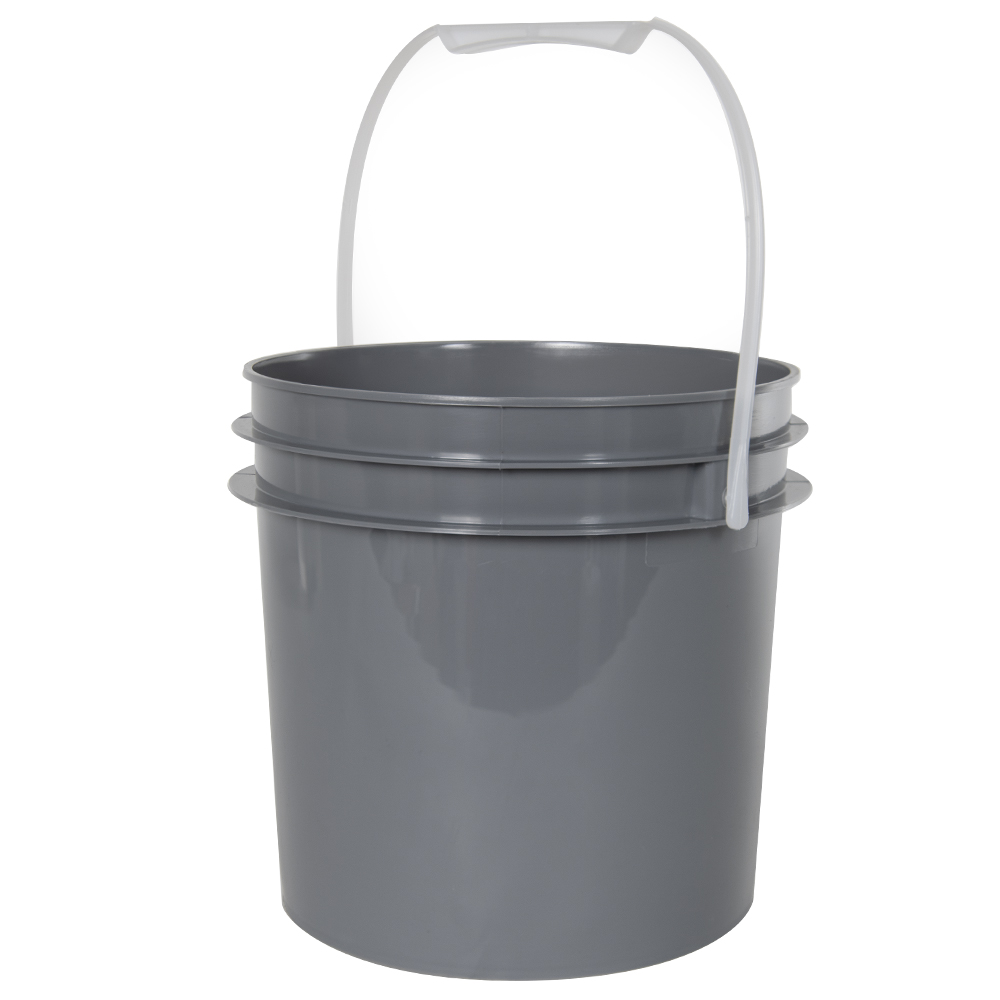 Gray 1 Gallon Bucket (Lid Sold Separately)