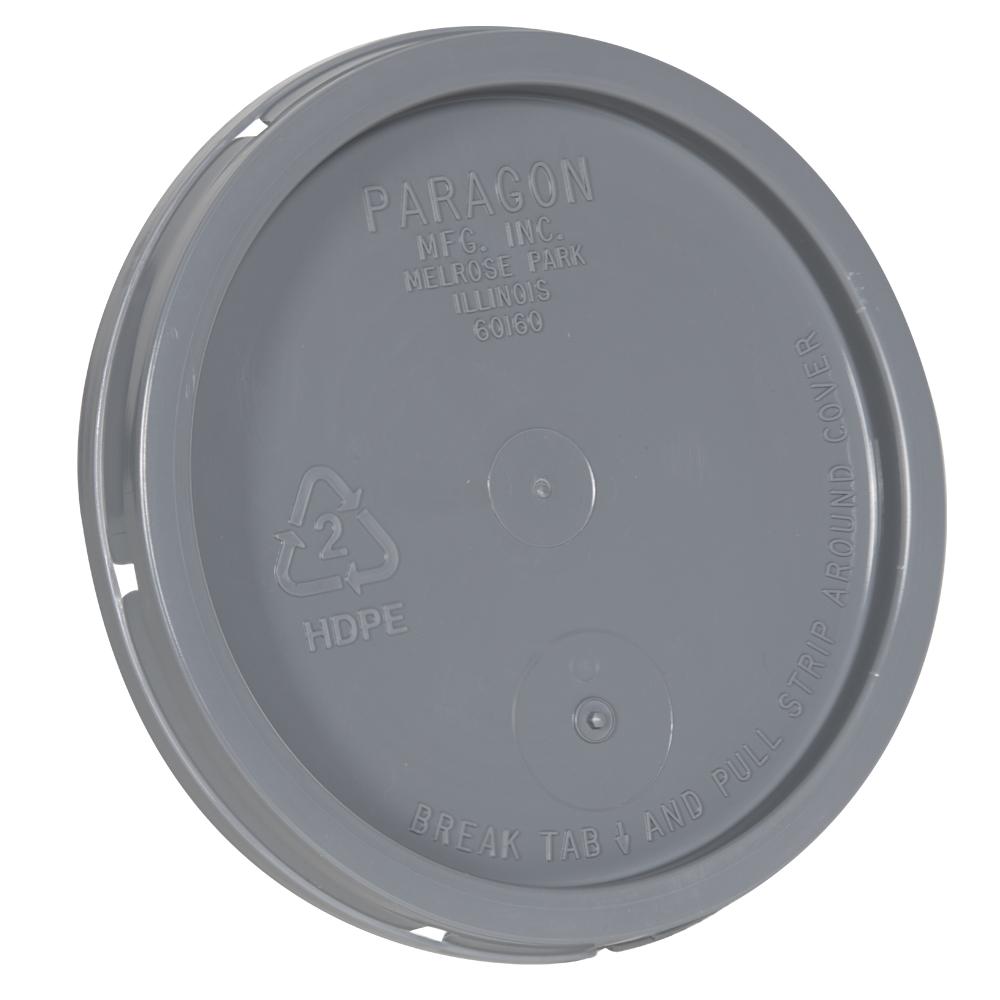Gray Tear Tab Lid for 1 Gallon Buckets
