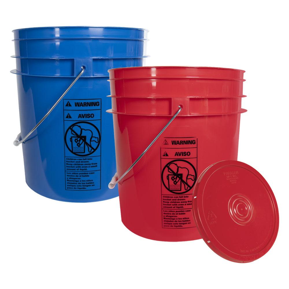 4 Gallon Buckets & Lids