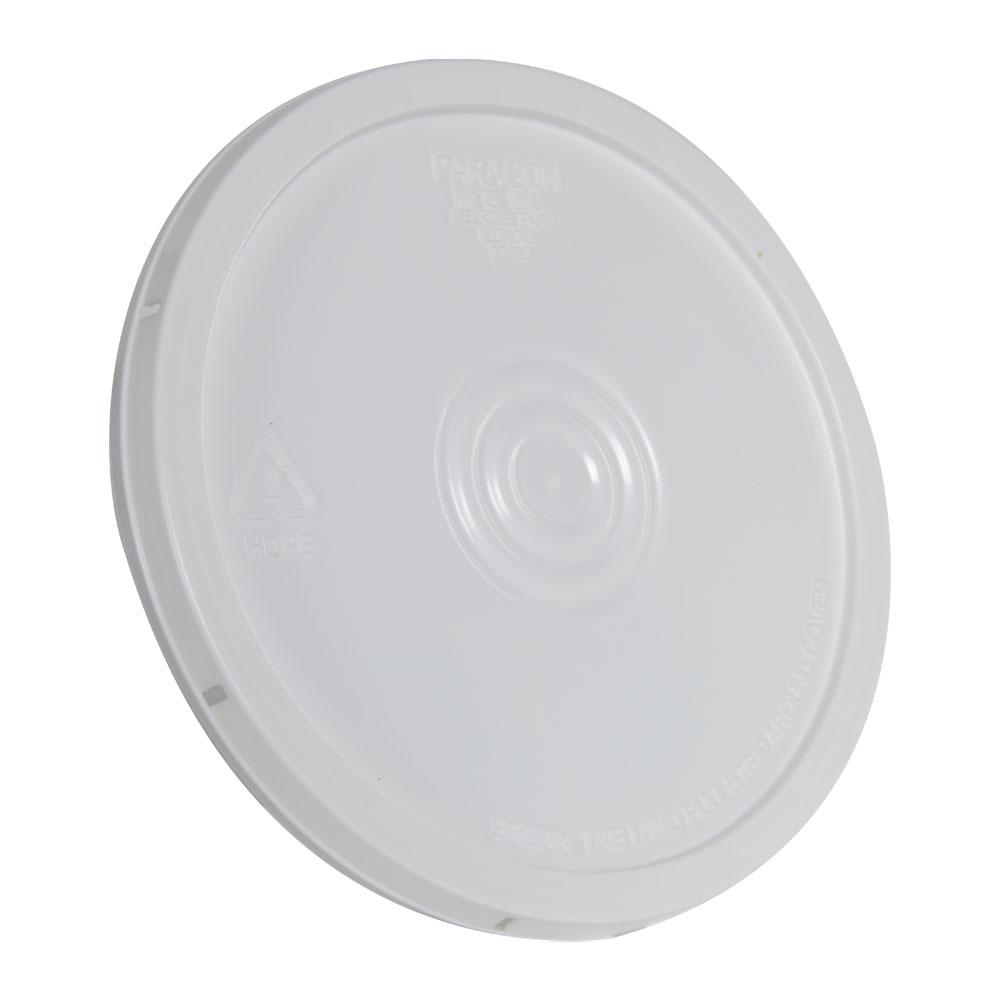 White Tear Tab Bucket Lid