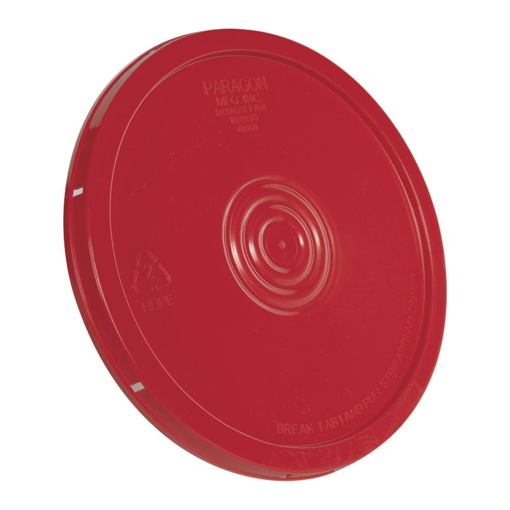 Red Tear Tab Bucket Lid