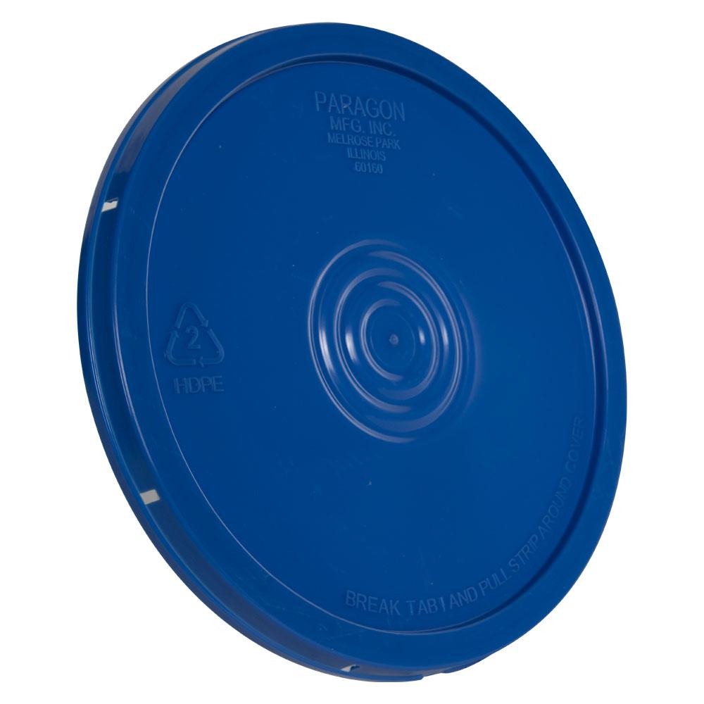 Blue Tear Tab Bucket Lid