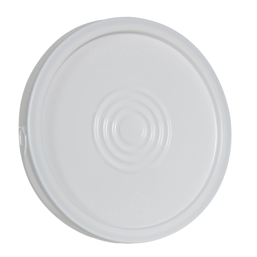 White Easy Off Lid for 6 Gallon Economy Buckets