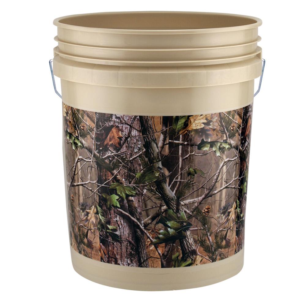 Leaktite® Realtree® APG Green 5 Gallon Bucket