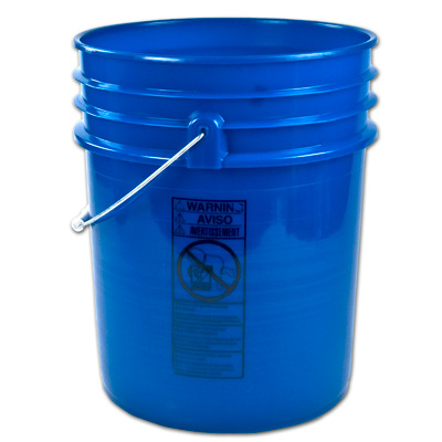 Letica® Premium Blue 5 Gallon Bucket