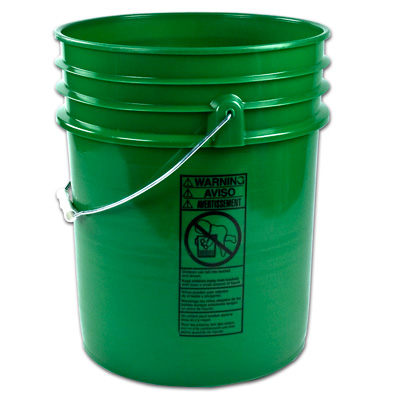 Letica® Premium Green 5 Gallon Bucket