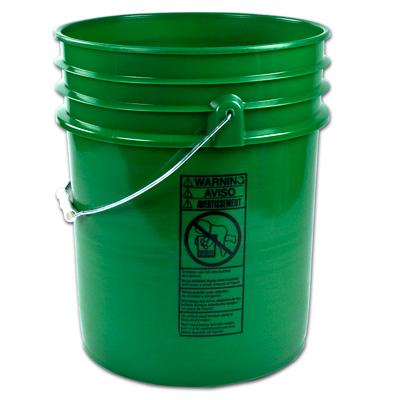 Premium Green 5 Gallon Bucket