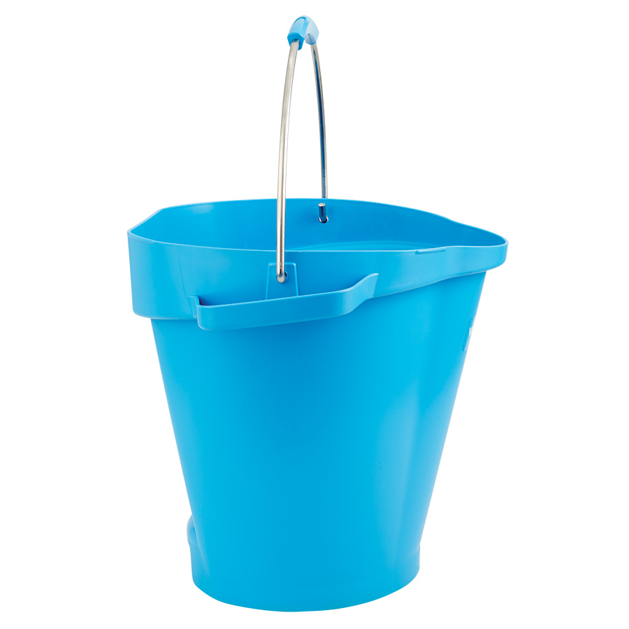 Vikan® Polypropylene Blue 5 Gallon Pail