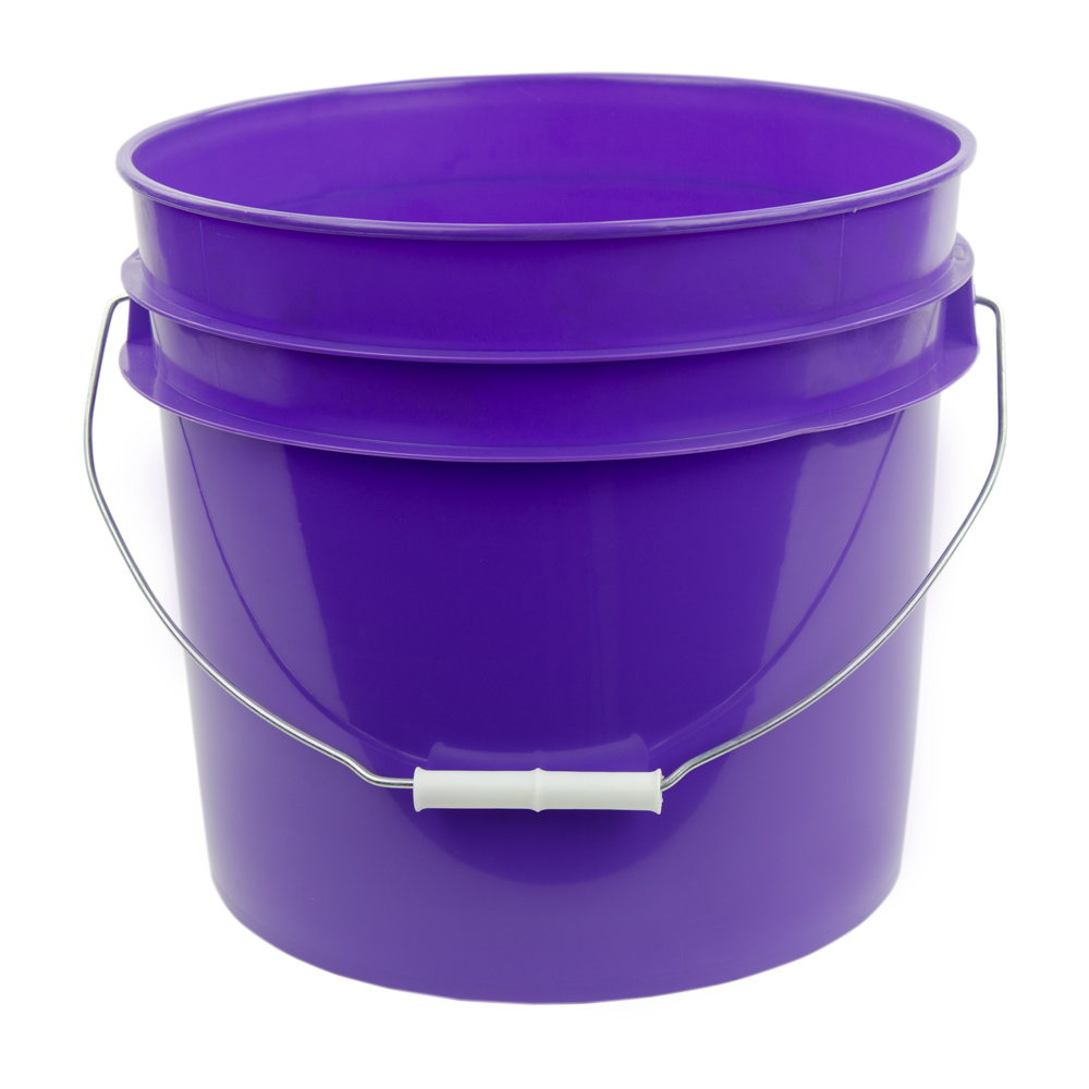 Purple 3 5 Gallon Hdpe Bucket U S Plastic Corp