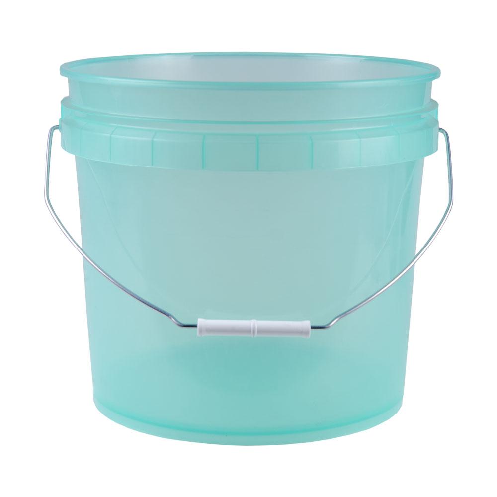 Translucent Green 3.5 Gallon Pail