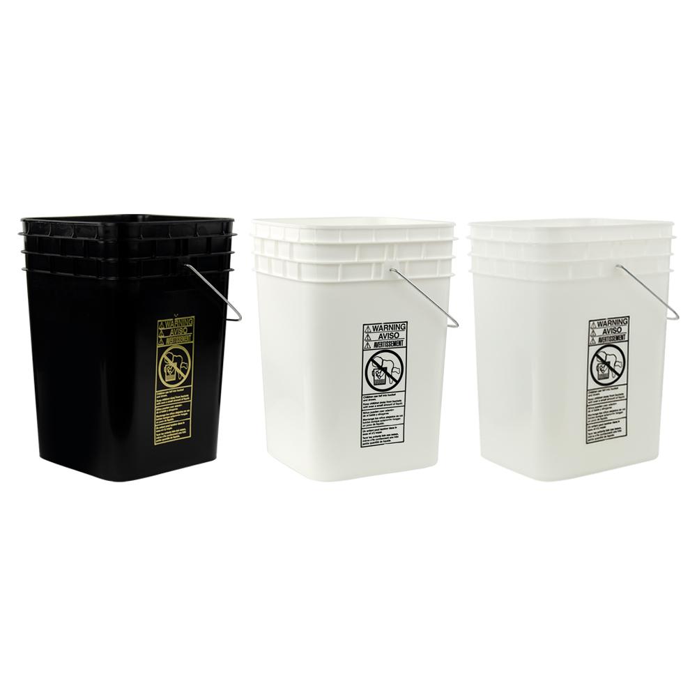 Hdpe Square Buckets Amp Lids U S Plastic Corp