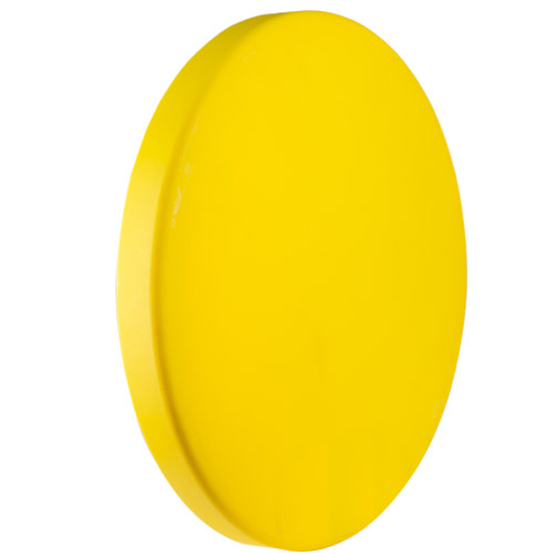 Yellow Heavy Duty Cover for 30 Gallon Tanks & Drums