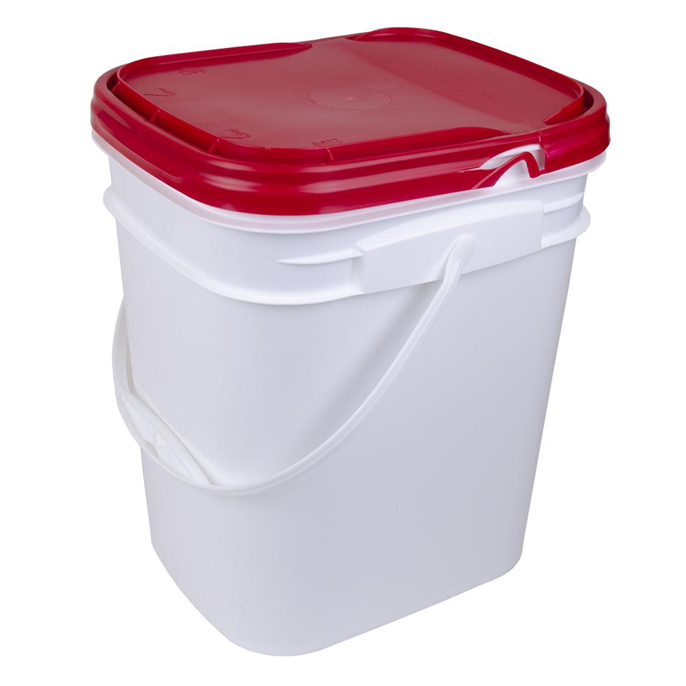 Rectangular Tamper Evident Bucket